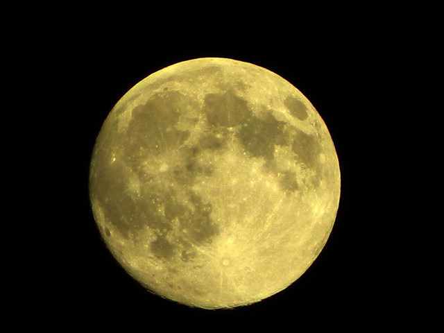 The Supermoon August 10, 2014