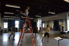 Sat, 2014-08-23 10:59 - Photos from our rehearsal process of the play about making theatre with special attention on the scenes about rehearsal. Wha!? #dontcallitplaypractice