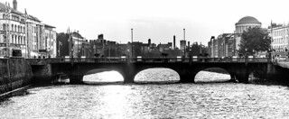 GRATTAN BRIDGE IN BLACK AND WHITE | by infomatique