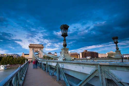 The Szechenyi Chain Bridge | by filipsplawiec