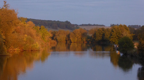 Sunset on the Thames, Pangbourne Henley to Pangbourne walk