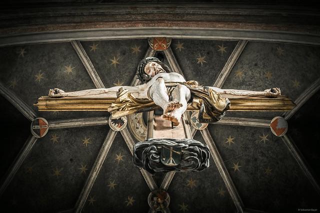 Jesus - St. Martin Church Landshut, Germany