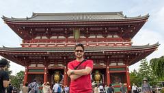 Me @ Senso-ji Temple - Hozomon Gate