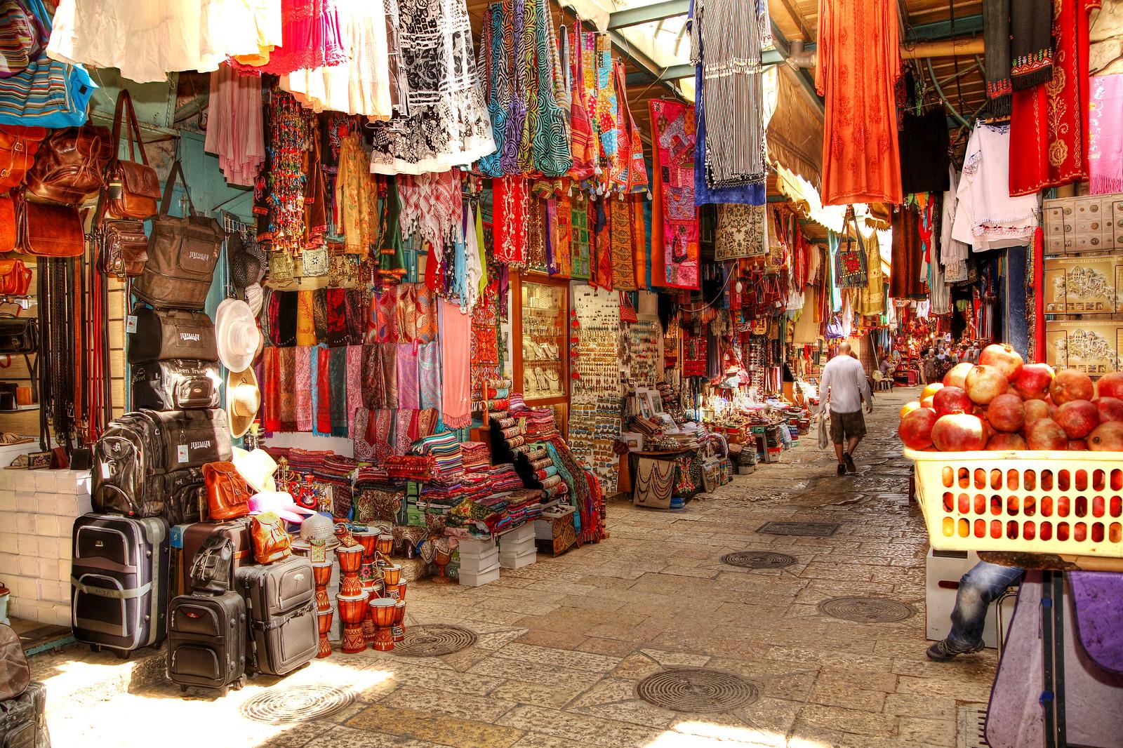 Jerusalem_OLd City market_2_Noam Chen_ IMOT