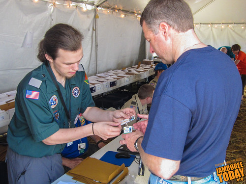 Checking In at the 2013 National Jamboree | by Daniel M. Reck