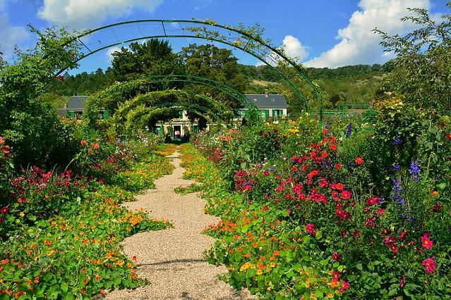 Claude Monet's Gardens - The Central Alley