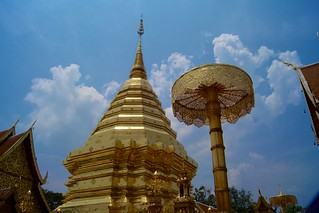 Wat Phra That Doi Suthep in Chiang Mai, Thailand   by kimtetsu