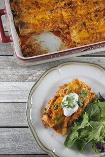 Chicken enchiladas | by PersonalCreations.com