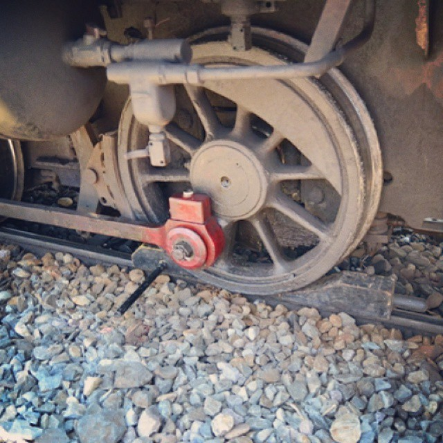 Manual brake #train #locomotive #sepur #spoor #heritage