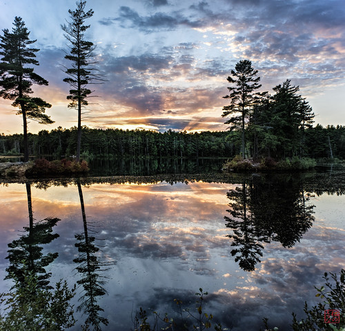 trees sunset reflection unitedstates walk massachusetts tully royalston tullylake fall2014