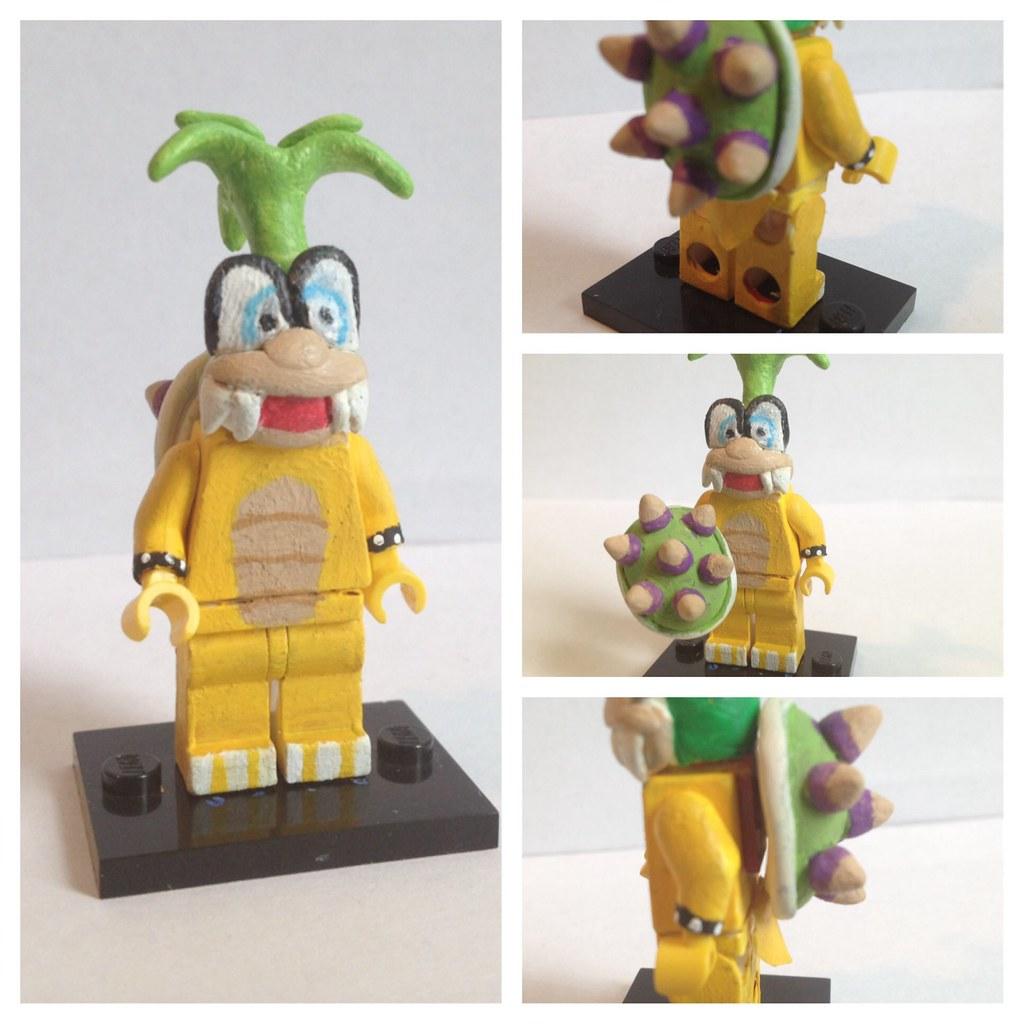 LEGO Super Mario Koopalings Lemmy Koopa Custom minifigure