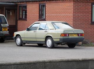 1984 Mercedes 190E 2.0 auto   by Spottedlaurel
