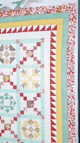 Crossroads Quilt Along Mini Quilt Finishing Instructions | by Out of the Blue Quilts