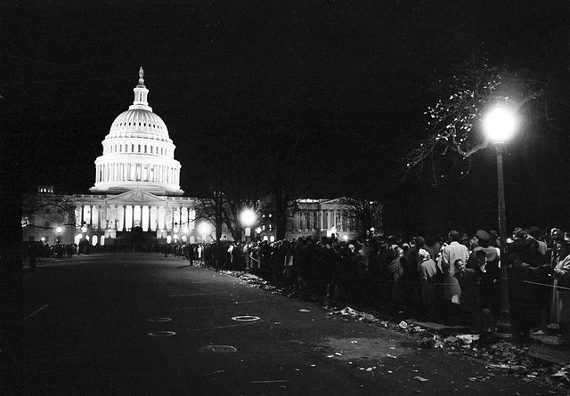 The US Capitol in Mourning on November 24, 1963