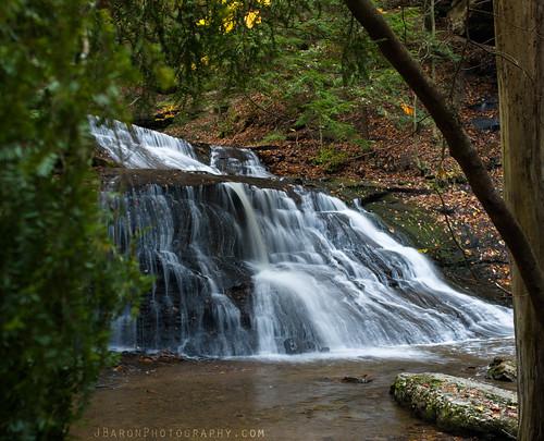 pa autumn fall waterfall mcconnellsmill hellshollowfalls hellrun longexposure pentax k1 m2835