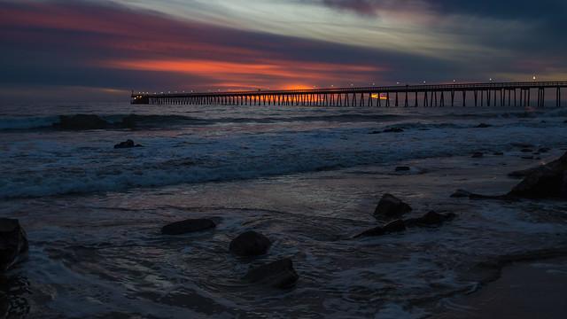 Haskell's Beach Sunset