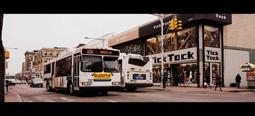 Q56: Orion VII - MTA/NYCT Bus #6800 - 164th St/Jamaica Ave, Jamaica, Queens, New York. | by Esoteric_Desi