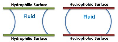 Fluid_Between_Hydrophilic_and_Hydrophobic_Plates