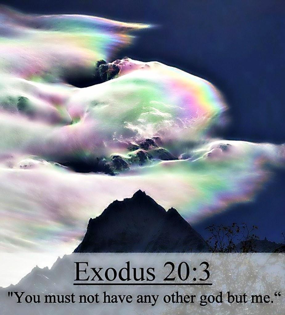 Exodus 20:3 nlt | 06-25-14 Today's Bible Scripture. | Bob Smerecki ...
