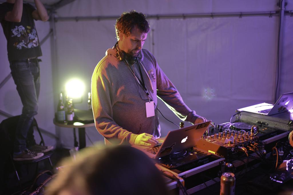 DJ Barry Hogan   Photo by Victoria Holt for KEXP 90 3 FM Sea