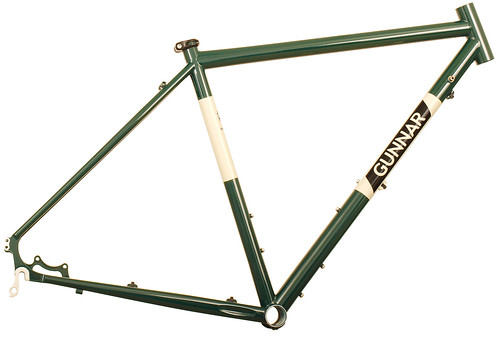 Gunnar Grand Disc in British Racing Green with Panda Panels | by Gunnar Cycles