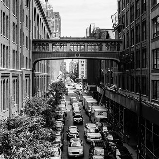 Looking east from the High Line   by Richard-