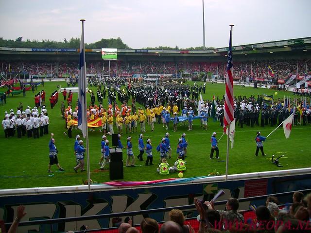 2007-07-16 Startbewijs op halen en vlaggen parade. (90)