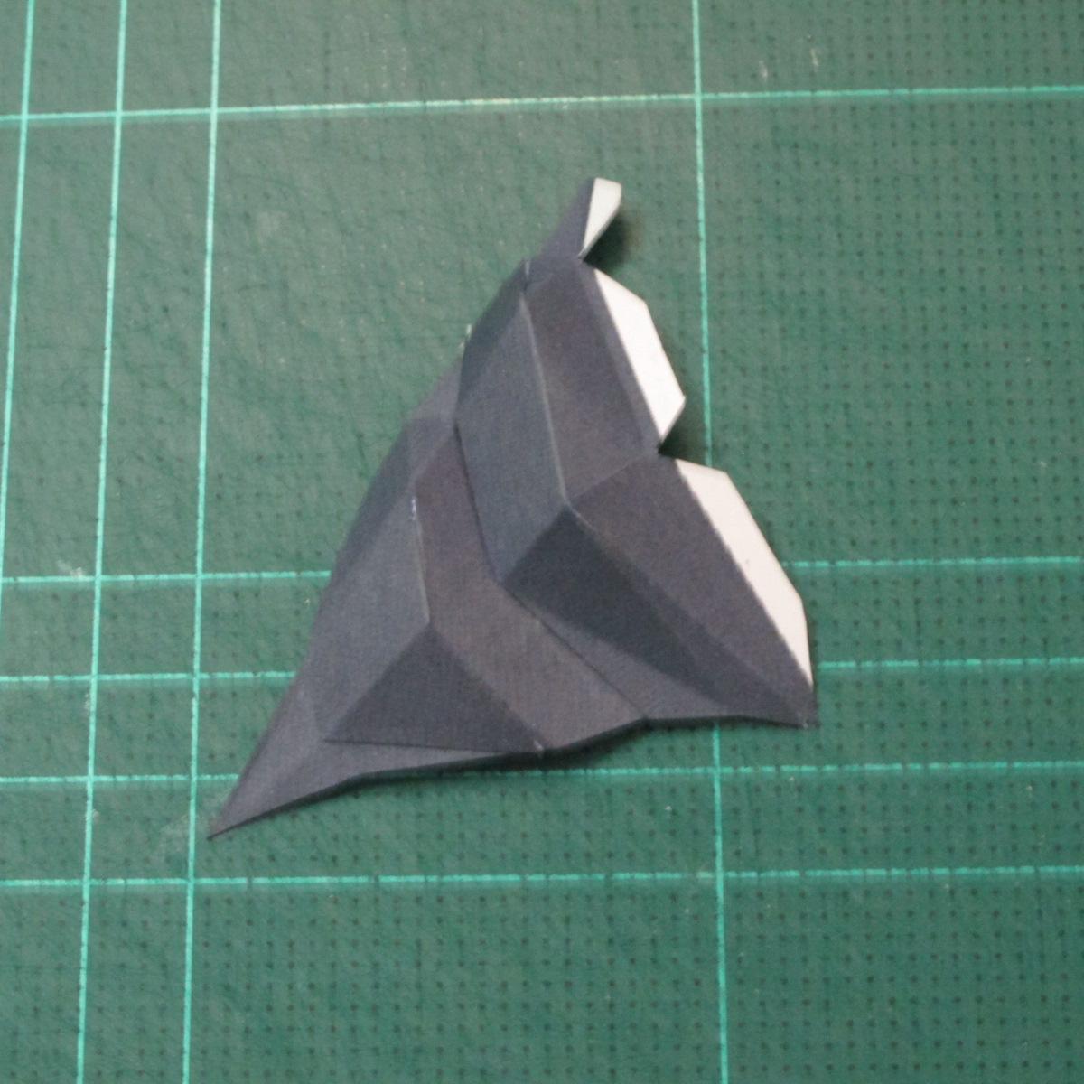 วิธีทำโมเดลกระดาษของเล่นคุกกี้รัน คุกกี้รสพ่อมด (Cookie Run Wizard Cookie Papercraft Model) 038