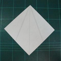 วิธีพับกระดาษเป็นช่อดอกไม้ติดอกเสื้อ (Origami Wedding Chest Flower) 026