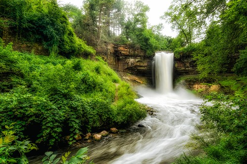 longexposure minnesota creek river waterfall minneapolis 365 minnehahafalls minnehahacreek laughingwater