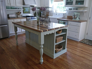 Cottage Kitchen Remodel   by Cynthia Cranes Art and Pottery