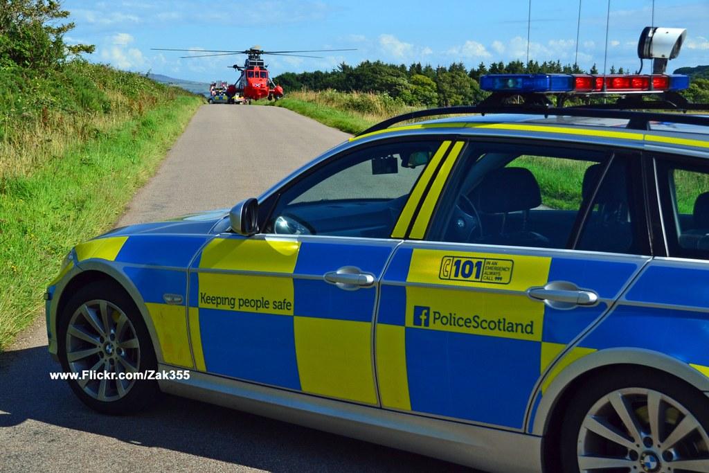 Isle of Bute Plane Crash | on BBC News | Zak355 | Flickr