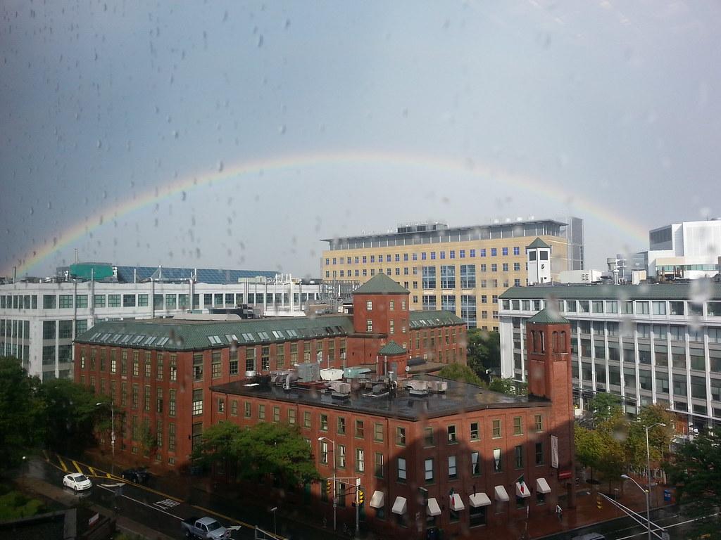 Rainbow over Kendall