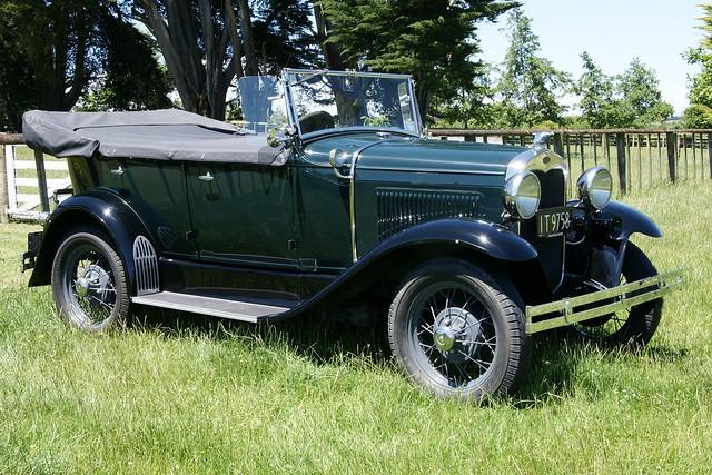 1930 Ford Model A Tourer .