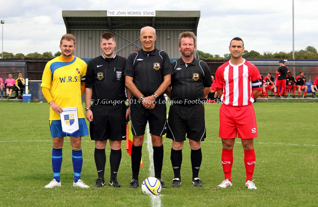 Bedfont & Feltham 3-2 Leighton Town FA Cup 30th Aug 2014