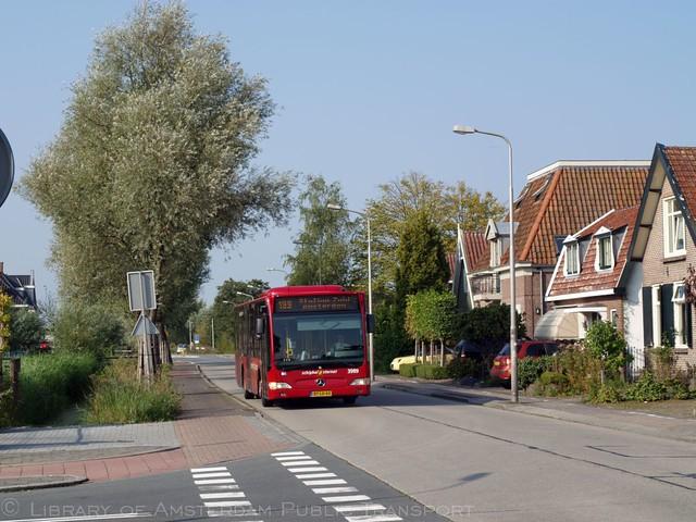 Connexxion 3989, Lijn 199, Legmeerdijk Amstelveen (2014)