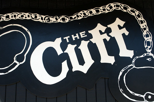 Signage for The Cuff, Seattle WA
