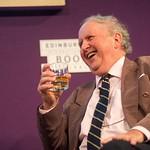 Alexander McCall Smith at the Edinburgh International Book Festival |