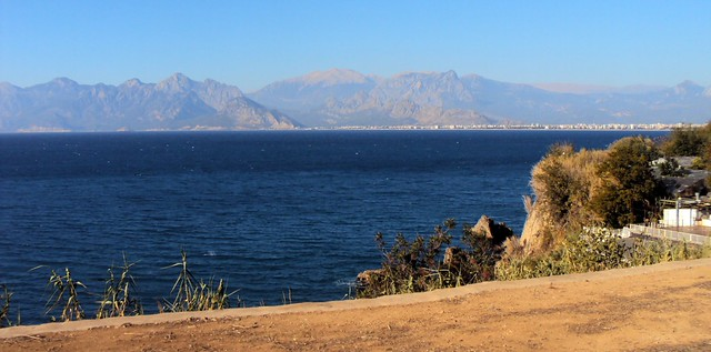 A beautiful day to leave Antalya with a stiff tailwind for 115km to the east by bryandkeith on flickr