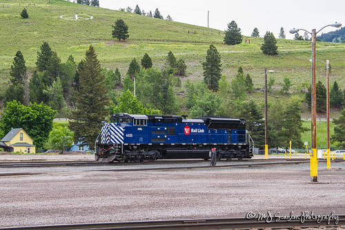 MRL 4406 | EMD SD70ACe | MRL Missoula Yard | by M.J. Scanlon