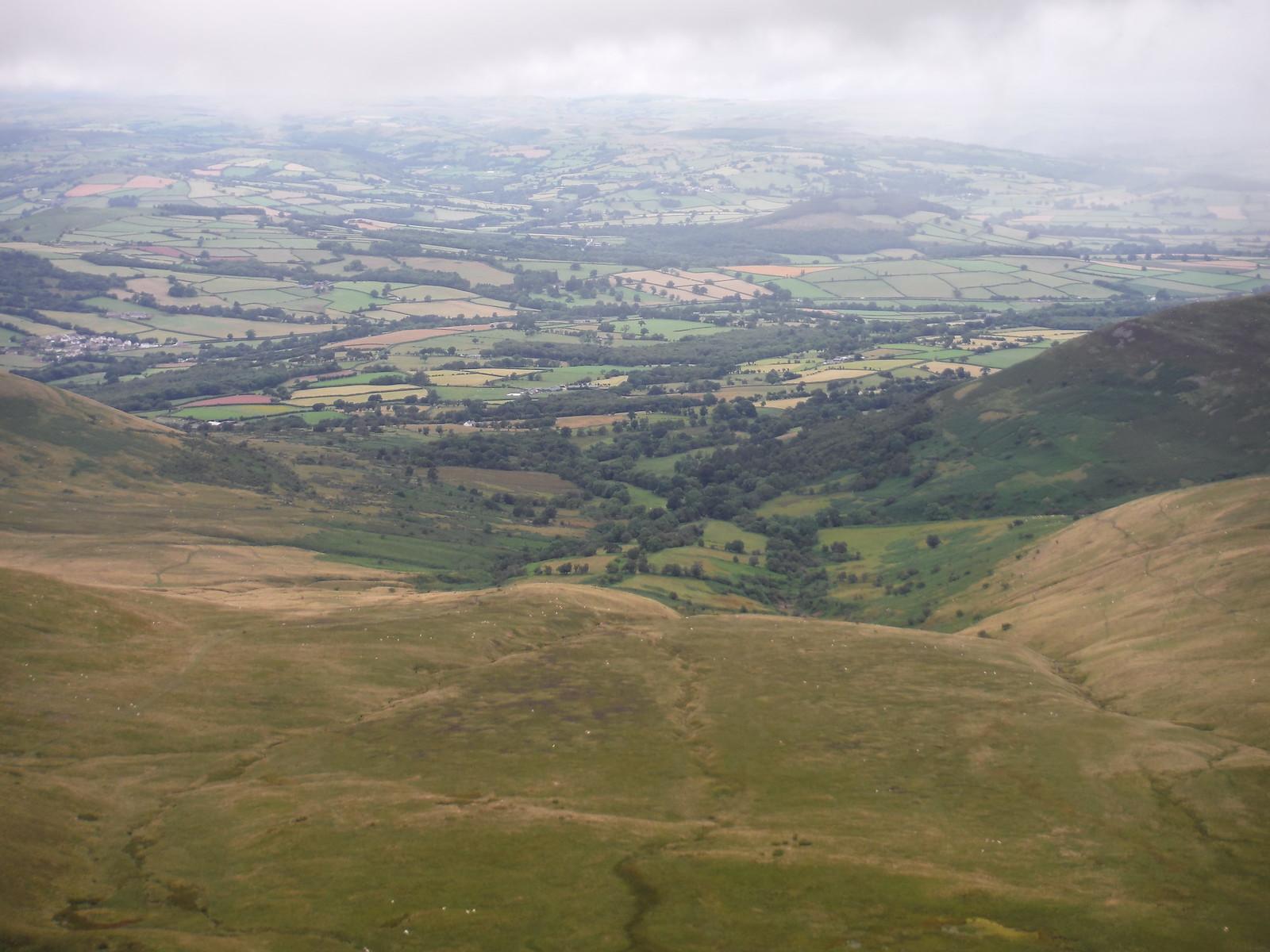 Cwm Llwch and Libanus, from Craig Cwm Llwch SWC Walk 278 Breacon Beacons Horseshoe - Bannau Brycheiniog (Ascent from Storey Arms Car Park)