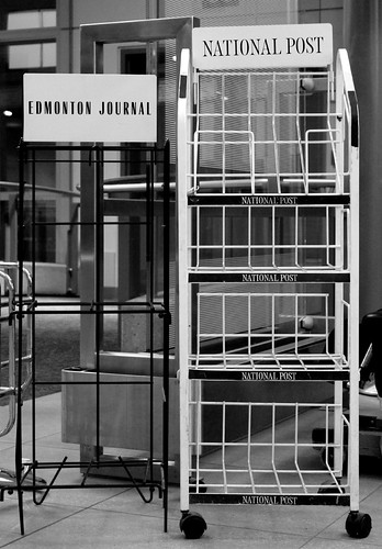 Newspapers BW | by richardha101