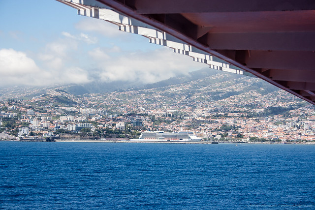 Cruise ship Celebrity Silhouette in Funchal, Madeira