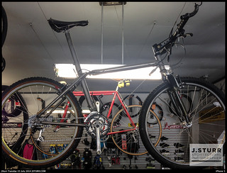 Titanium Slingshot Bike