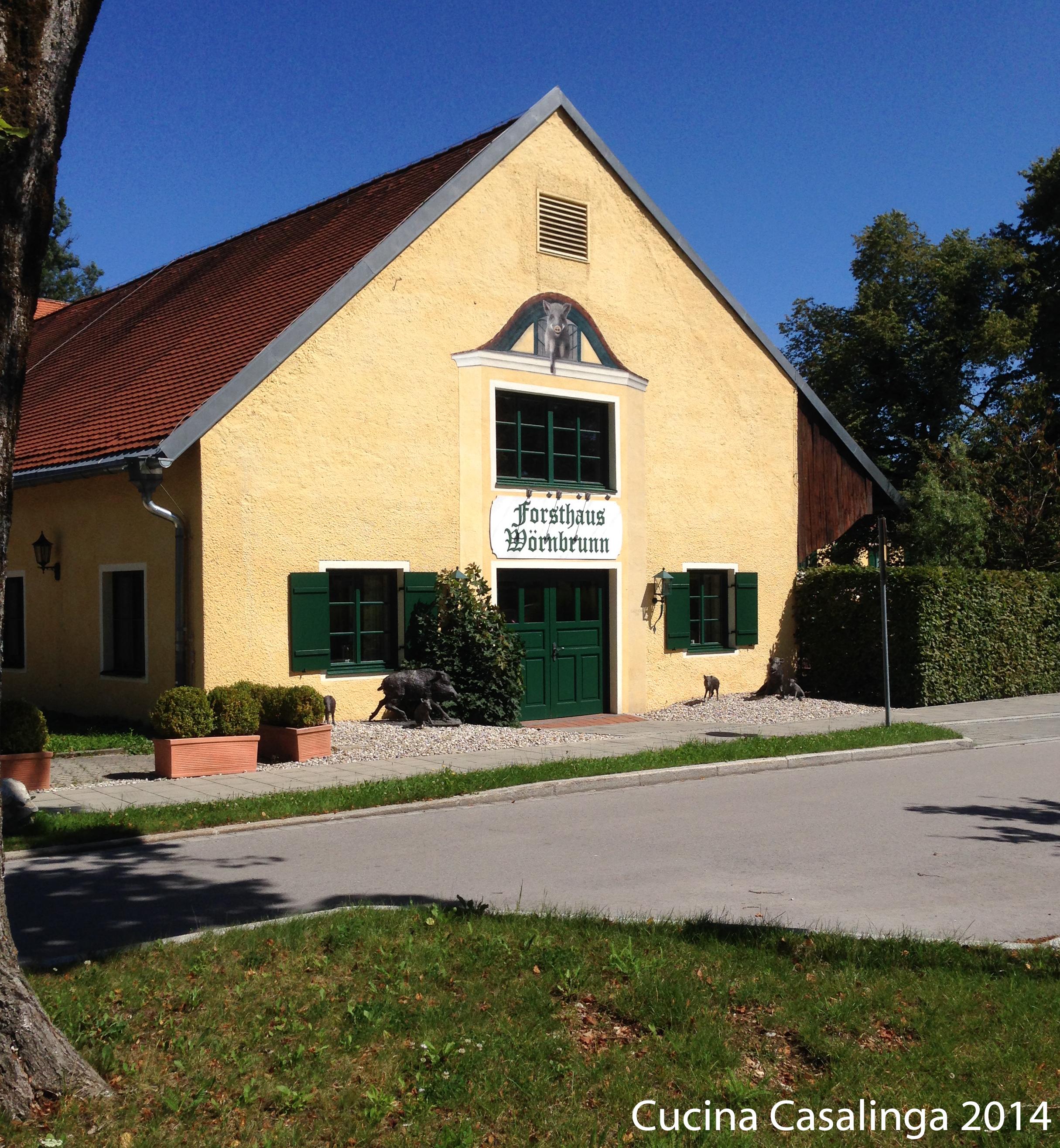 Forsthaus Wörnbrunn Stadel