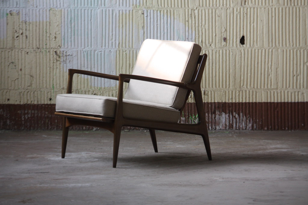 Groovy Sensual Midcentury Modern Ib Kofod Larsen Lounge Arm Chair Ocoug Best Dining Table And Chair Ideas Images Ocougorg