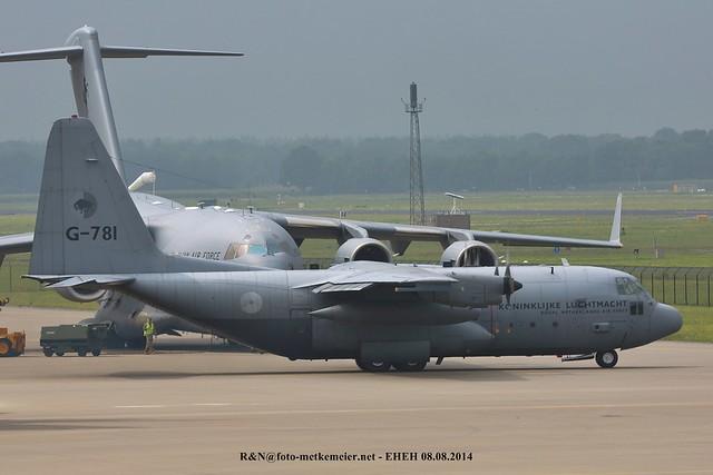 RNLAF G-781 C-130H Hercules