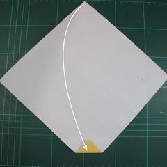 วิธีพับกระดาษเป็นรูปนกแก้ว (Origami Parrot) 005
