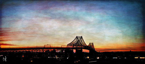 city bridge summer texture architecture photoshop sunrise montreal fujifilm hdr 2014 jacquescartierbridge brunolaliberté darkwood67stexture
