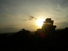 Sunset at Phnom Bakheng Angkor Thom - 19